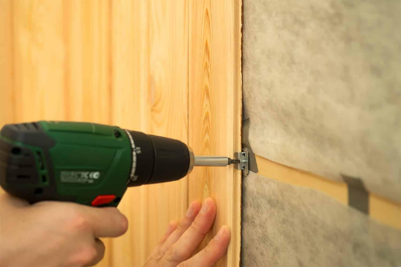 Деревянная обшивка стен | Монтаж стеновых панелей
