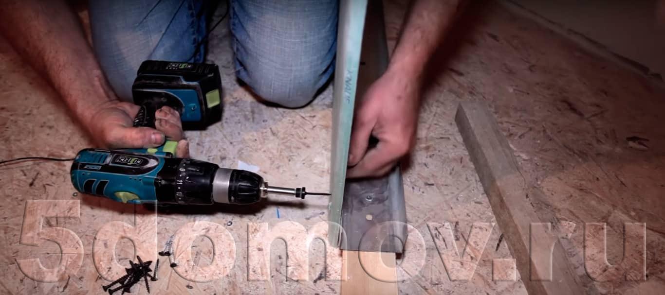 Монтаж гипсокартонных плит | Монтаж гипсокартонных перегородок и стен