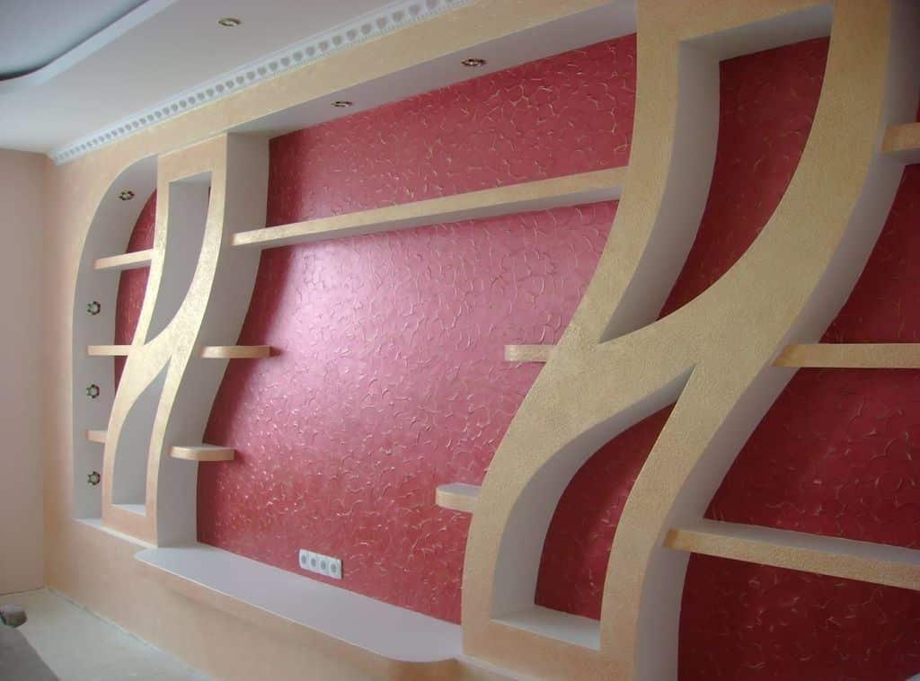 Сложные формы из гипсокартона | Монтаж гипсокартонных перегородок и стен