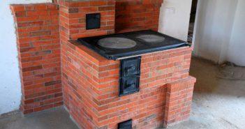 Варочная печь из кирпича своими руками: пошаговая инструкция кладки + фото