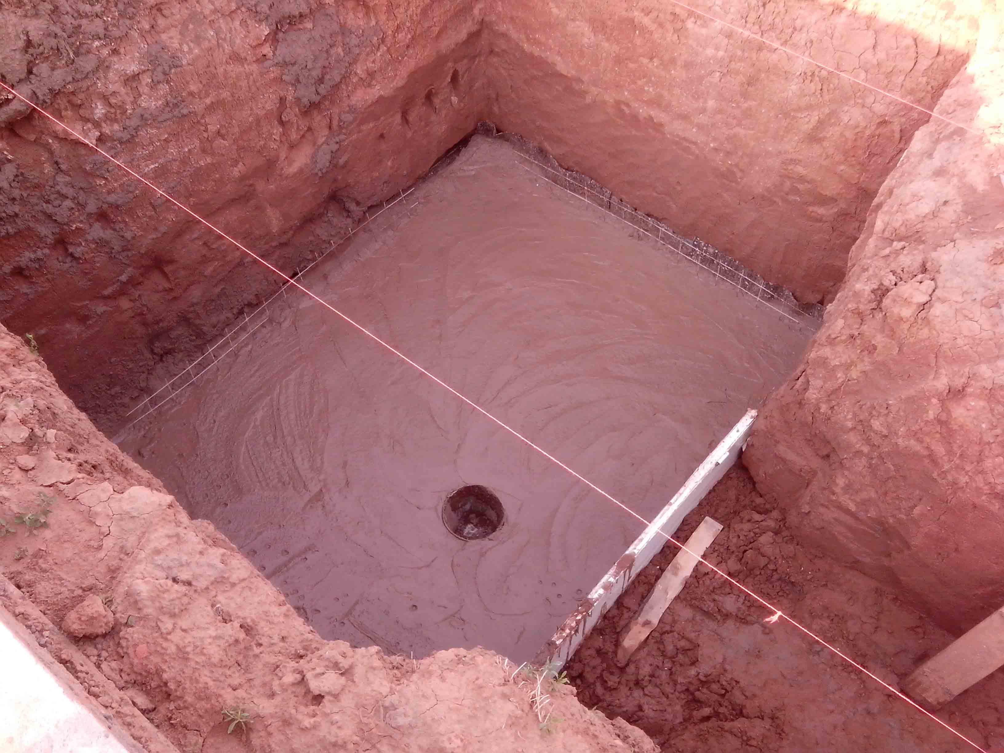Погреб на дачном участке своими руками - Устройство дна погреба