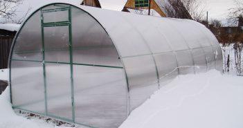 Как подготовить теплицу к зиме: уборка, обработка, утепление