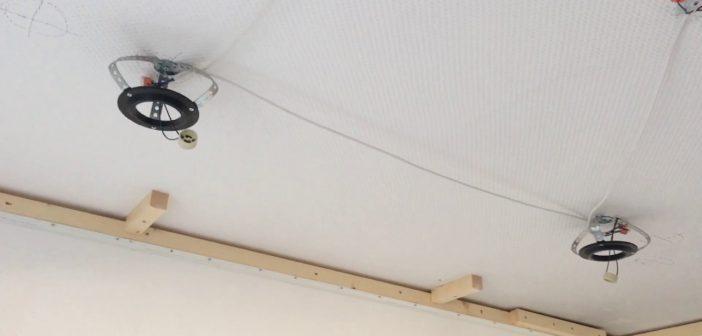 Закладные под натяжной потолок: инструкции по установке