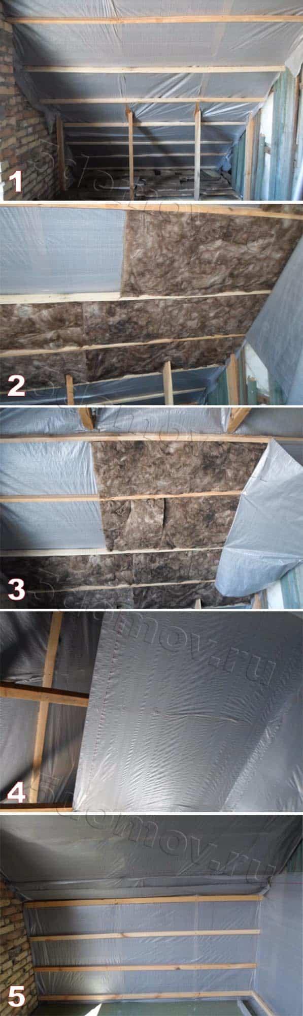 Монтаж обрешетки и утепление мансарды: подробная инструкция