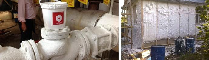 Жидкая теплоизоляция: характеристики, расход, инструкции по нанесению с фото и видео