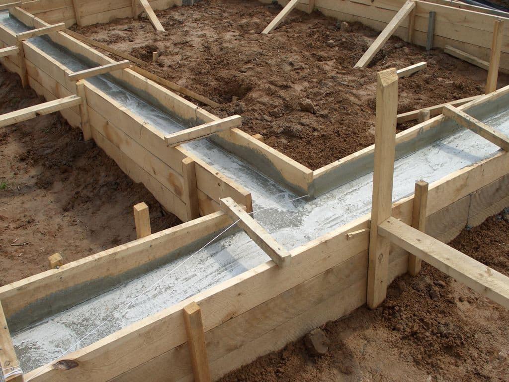 Конструкция ленточного фундамента | Расчет арматуры для ленточного фундамента