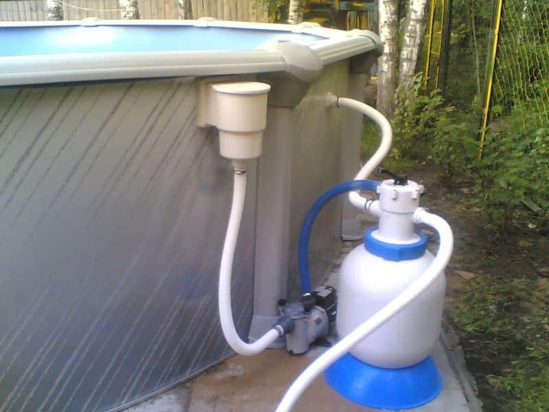 Фильтрационная установка хорошо работает против цветения воды