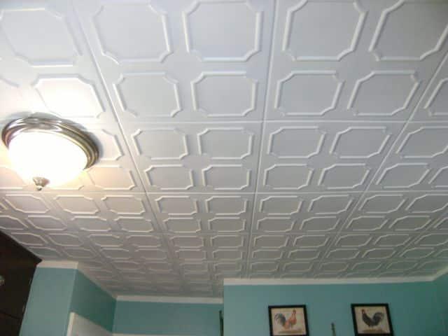 Для чего красят потолочную плитку | Чем и как покрасить потолочную плитку