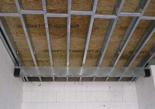 Усиление металлических лаг | Чем можно усилить лаги второго этажа