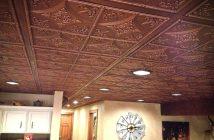 Чем и как покрасить потолочную плитку: какую краску выбрать, как её наносить