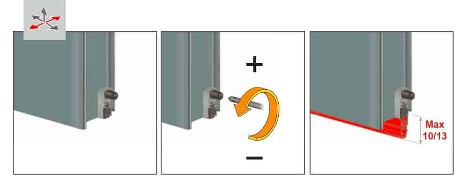 Щель между полом и дверью | Чем и как заделать щель в двери