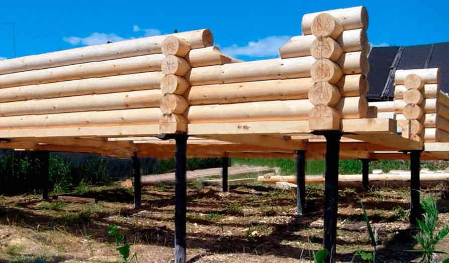 Свайно-винтовой фундамент для бани | Какой фундамент лучше для бани