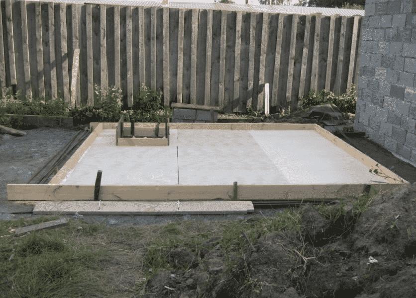 Плитный фундамент для бани | Какой фундамент лучше для бани