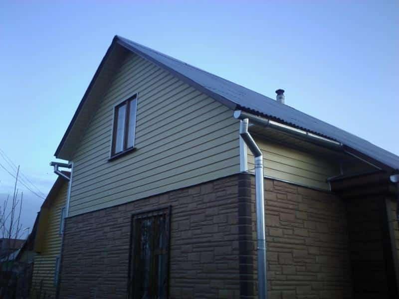 Если крыша и стены похожего цвета | Цвета фронтонов: как подобрать, как сочетать