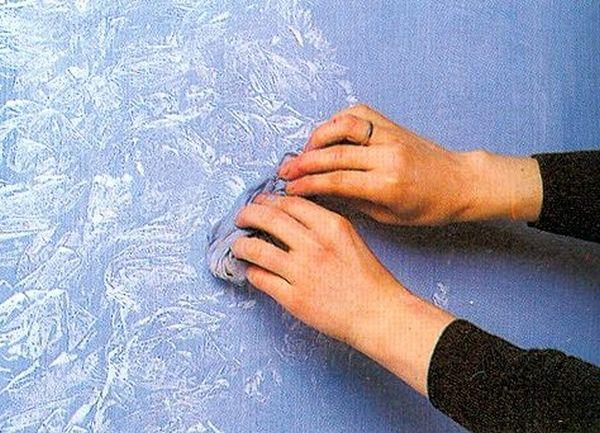 Дополнительные эффекты и рисунки | Как наносить фактурную краску: инструкция с фото и видео