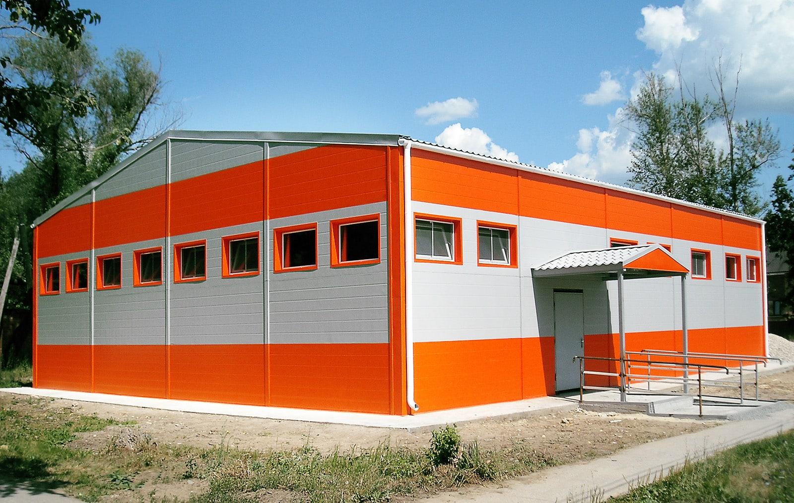 Каркасные здания из сэндвич-панелей | Сэндвич-панели плюсы и минусы, использование, особенности, стоимость