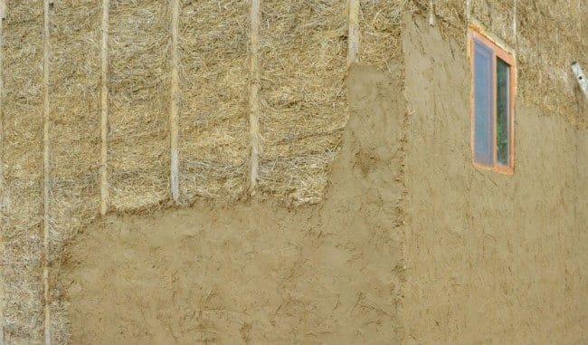 Утепление натуральными материалами | Утепление фронтона мансарды