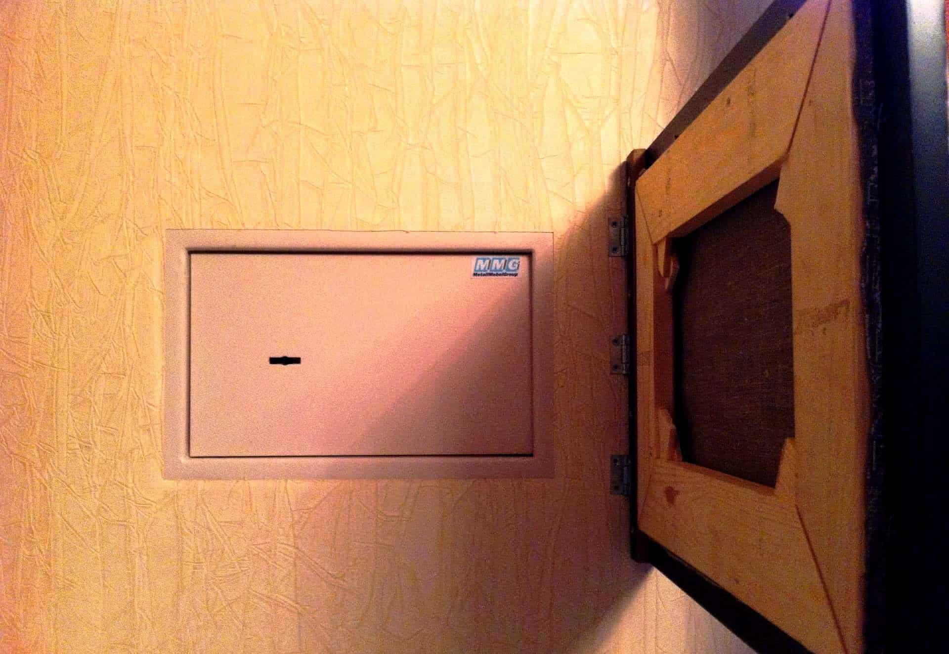 Выбор места для сейфа