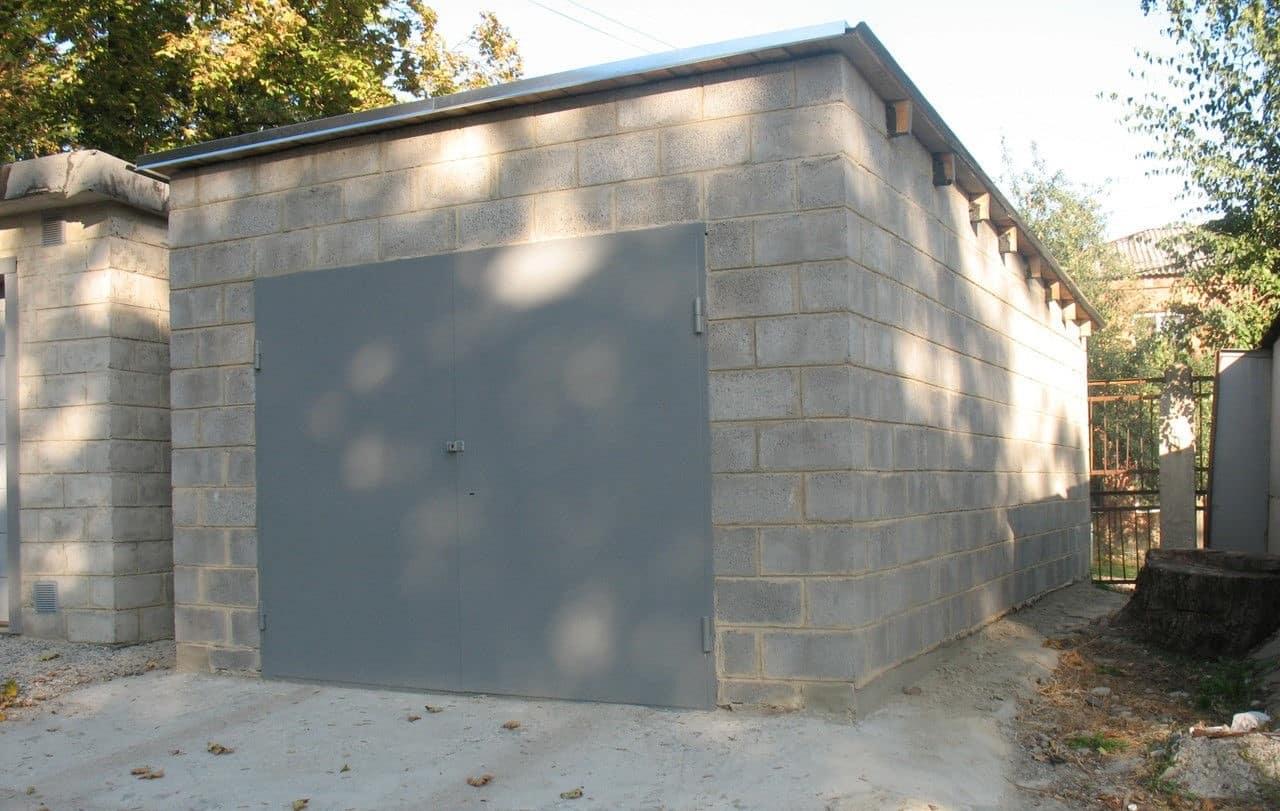 Проект гаража из блоков | Сколько нужно блоков на гараж: как рассчитать количество