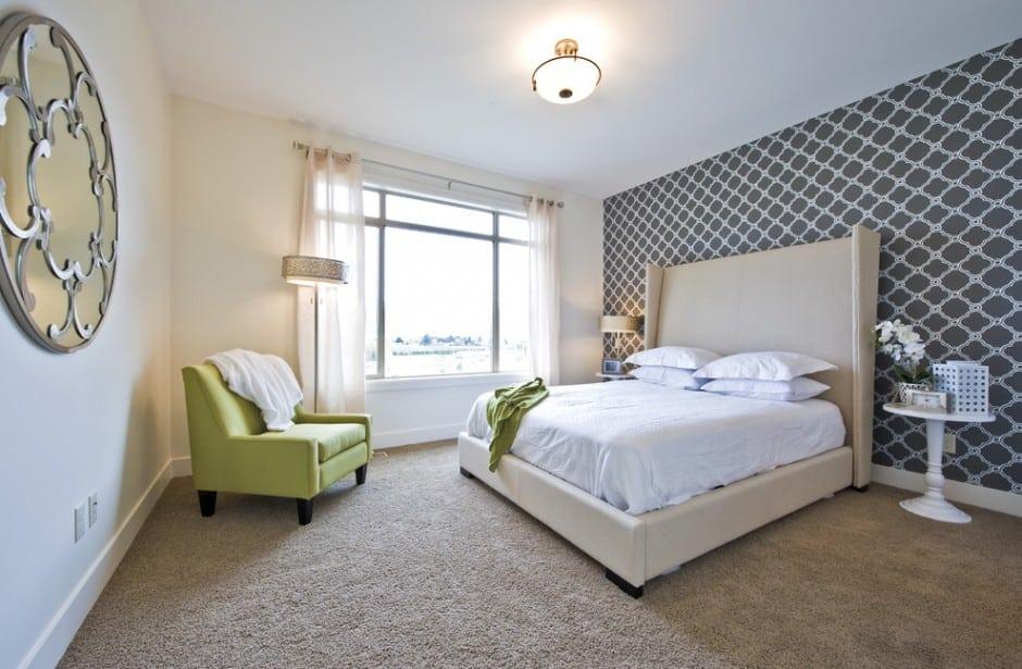 Как подобрать цвет обоев в спальню