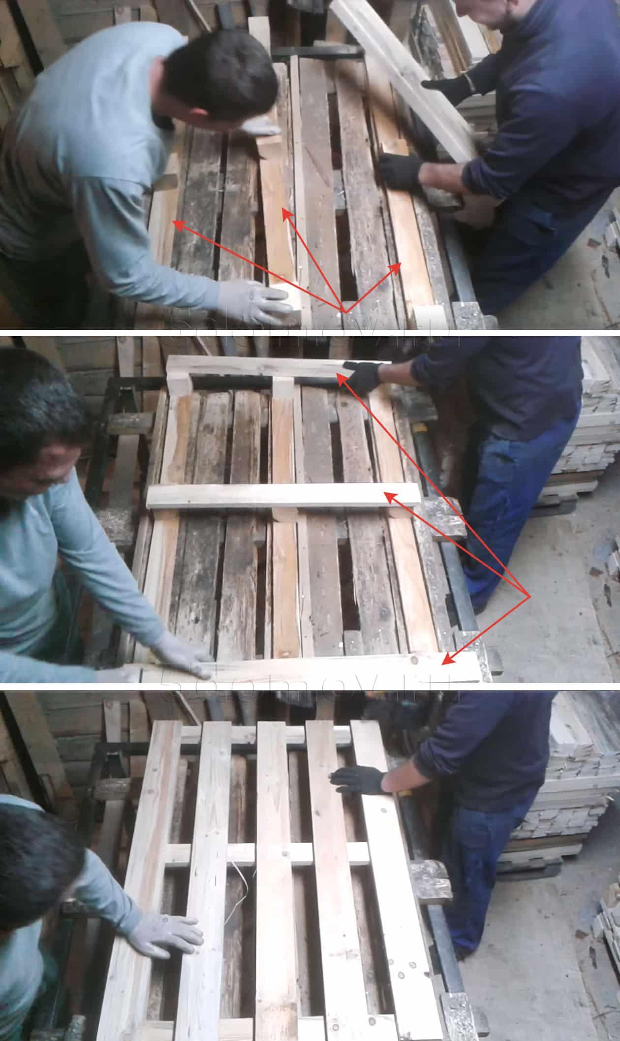 Изготовление поддона своими руками | Кровать из поддонов своими руками