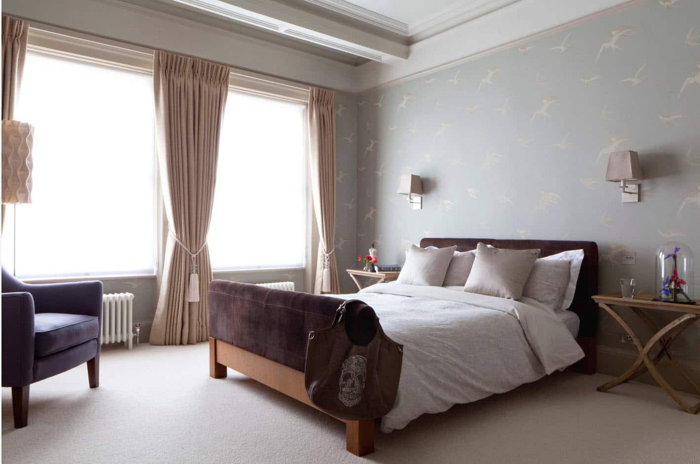 Как подобрать цвет обоев в спальню | Обои пастельных тонов