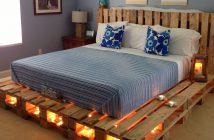 Кровать из поддонов своими руками: пошаговая инструкция с фото и видео