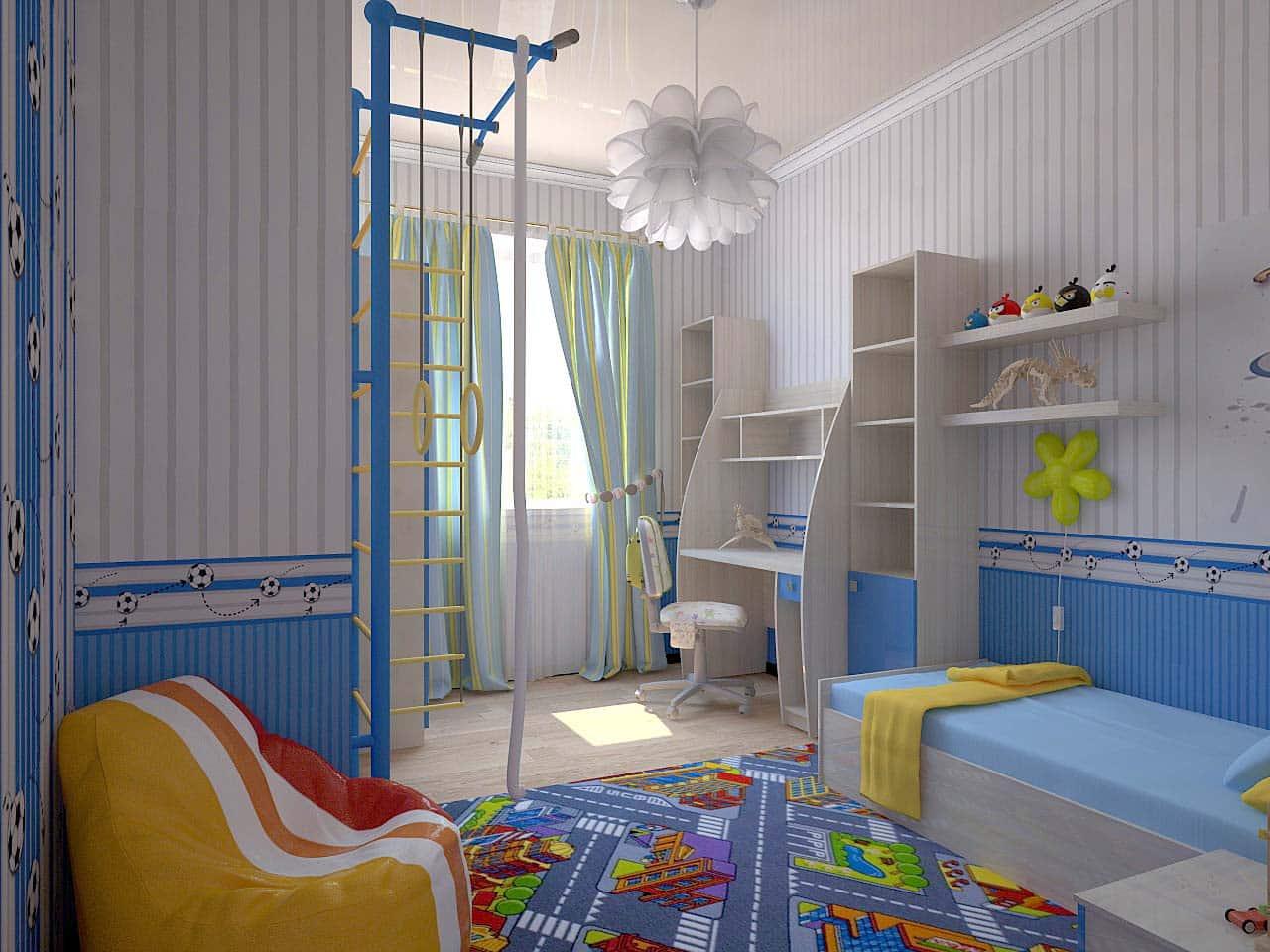 Как подобрать цвет обоев в детскую