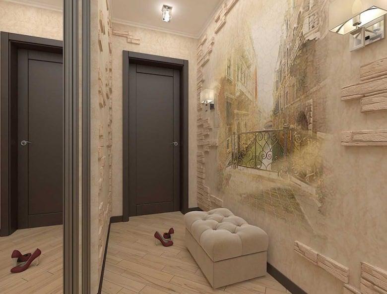 Как подобрать цвет обоев в коридор