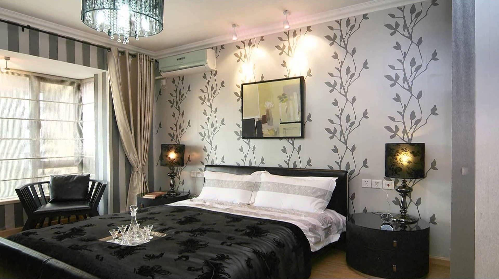 Как подобрать цвет обоев в спальню | Узоры и орнаменты