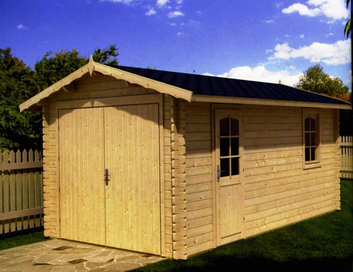 Плюсы и минусы деревянных гаражей | Гараж из дерева своими руками