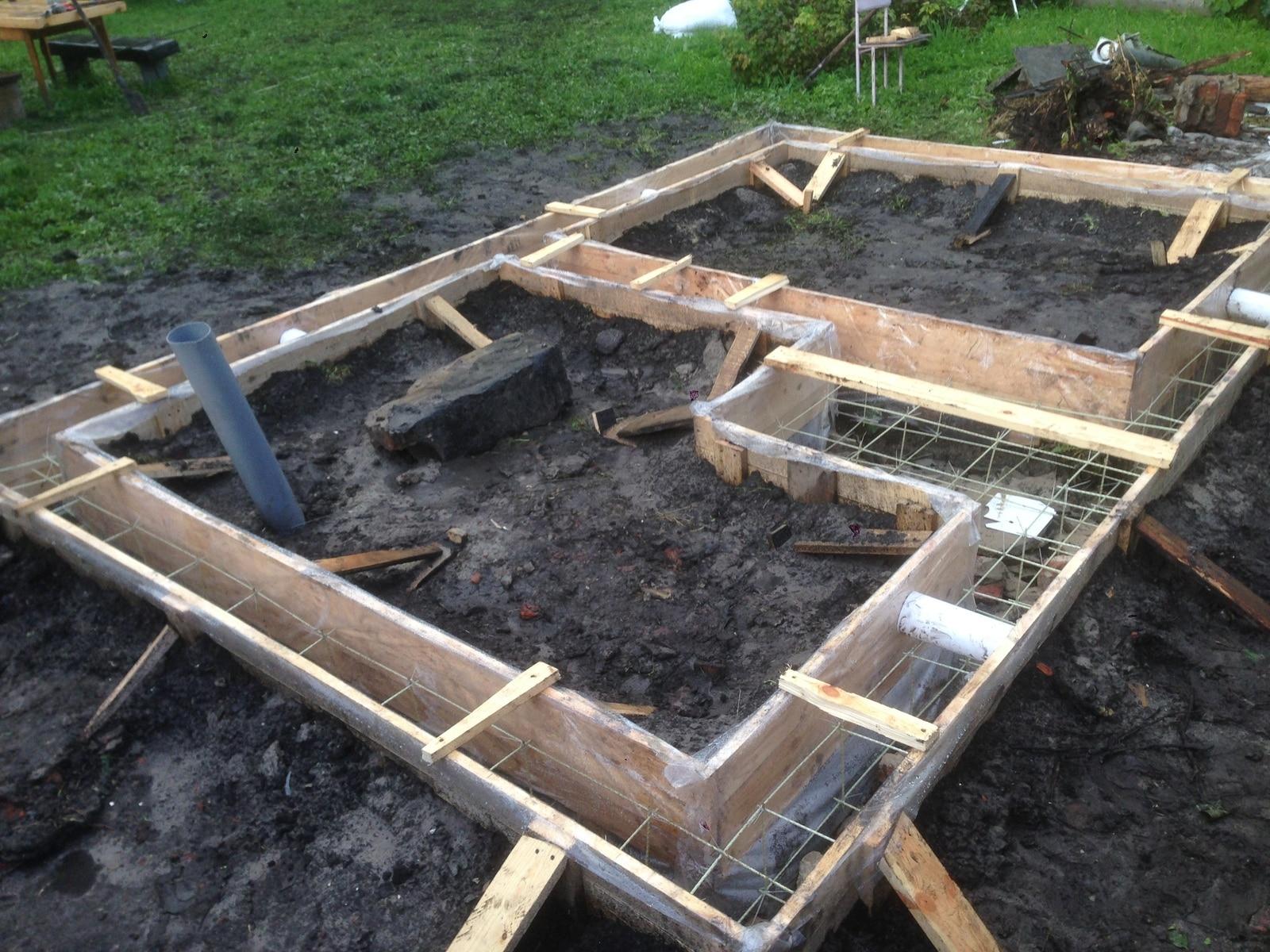 Строительство бани из сэндвич-панелей