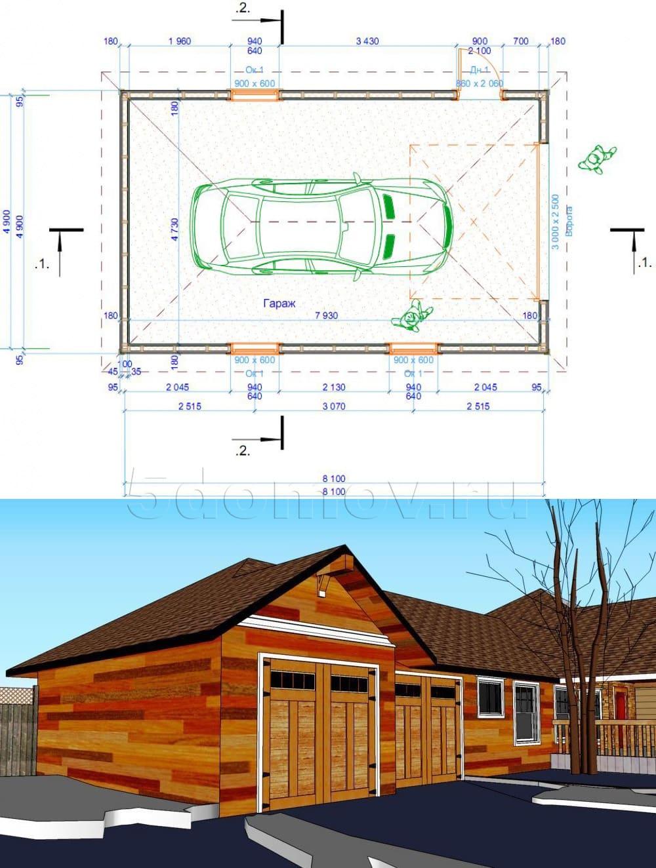 Проектирование гаража | Гараж из дерева своими руками