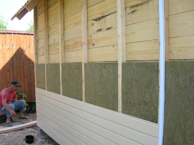 Утепление деревянного гаража | Гараж из дерева своими руками