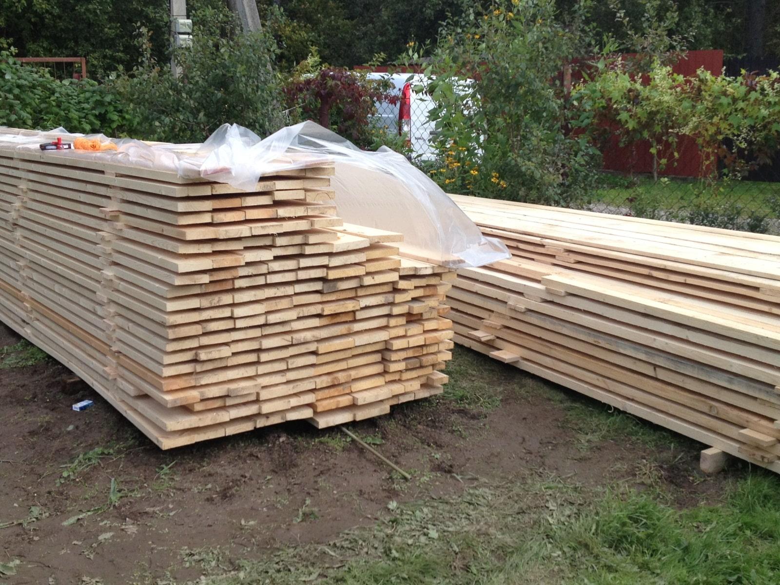 Подготовительные работы | Гараж из дерева своими руками