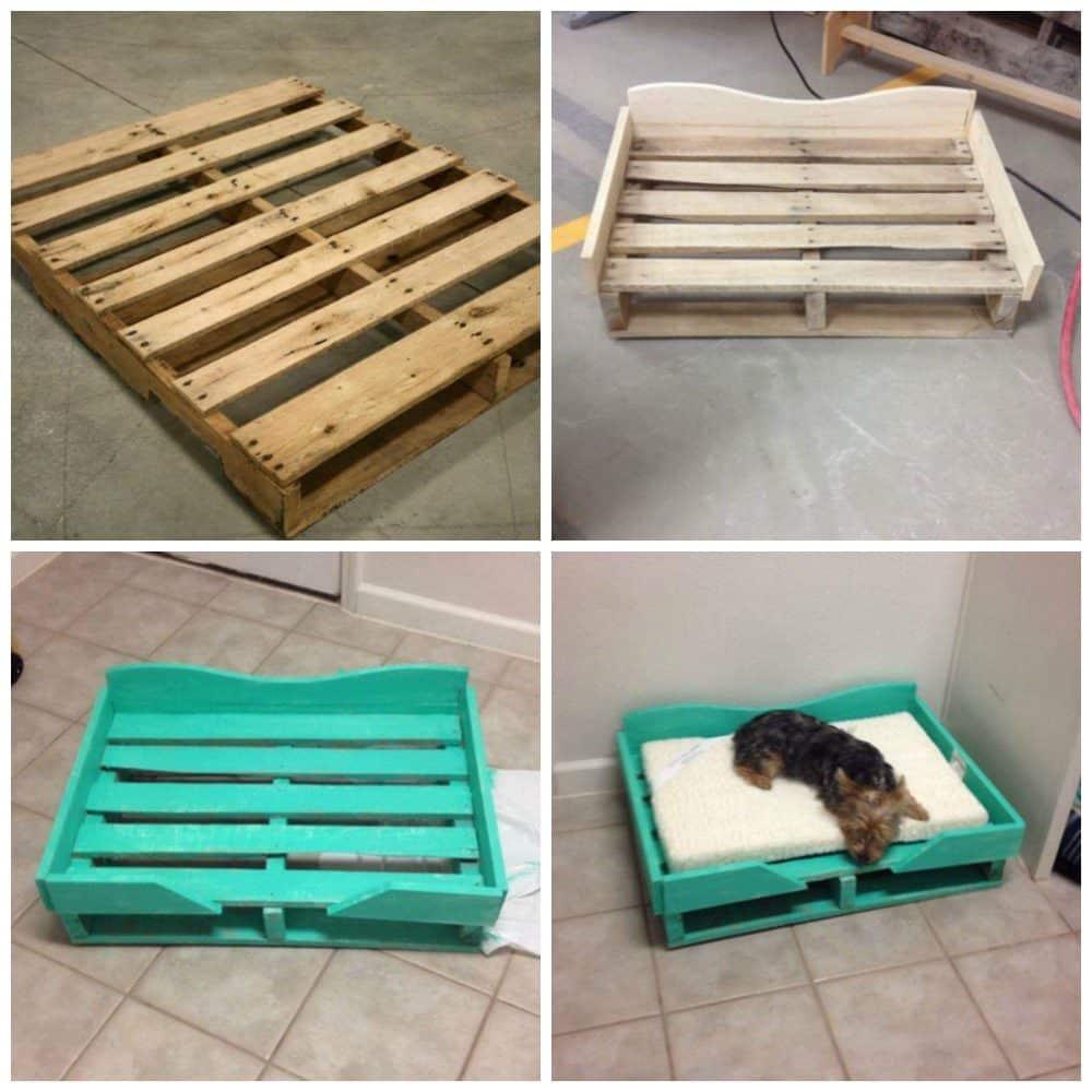 Лежаки для животных из поддонов | Что можно сделать из поддонов своими руками