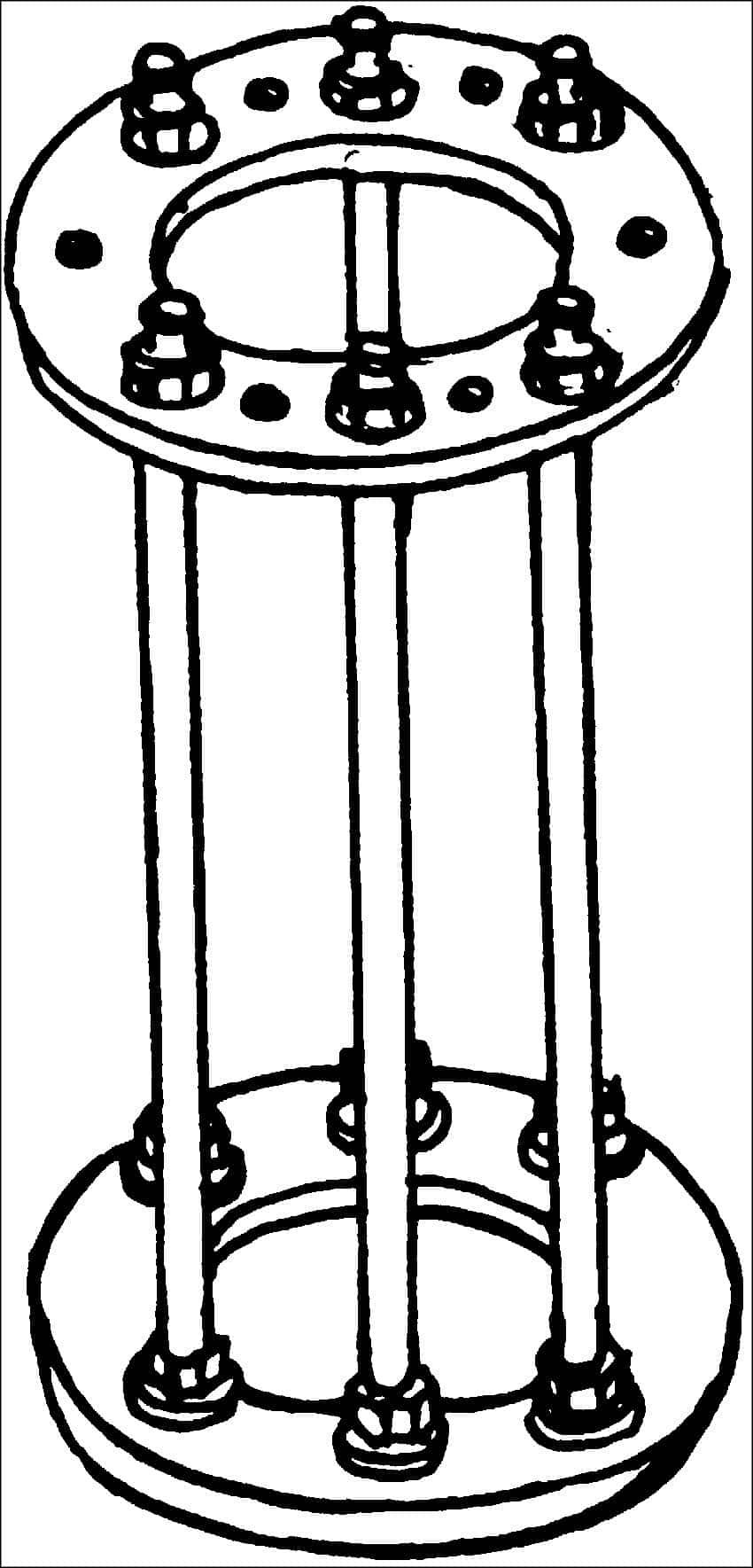 Изготовление рамы под колодец | Как выложить колодец из кирпича своими руками