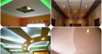 Что лучше: натяжной потолок или гипсокартон