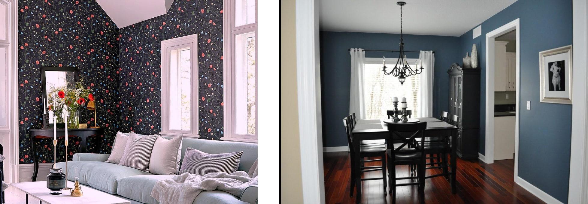 Обои или покраска стен — критерии выбора | Обои или покраска стен: что лучше, что дешевле