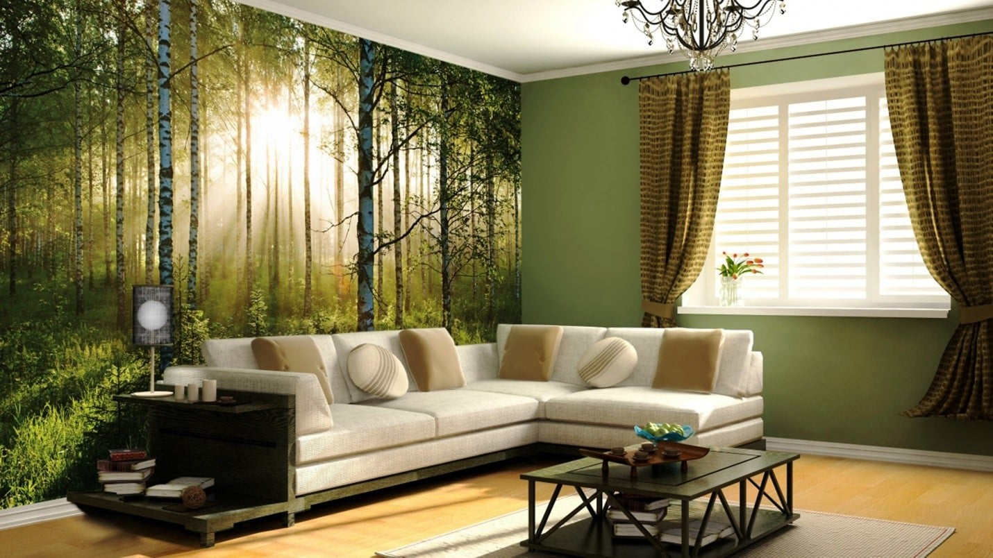 Краска или обои — что эстетичнее | Обои или покраска стен: что лучше, что дешевле