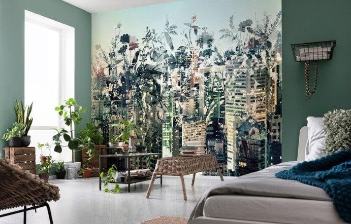 Краска или обои — что экологичнее | Обои или покраска стен: что лучше, что дешевле