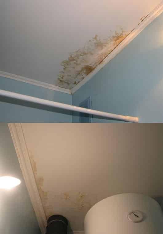 Факторы внешнего воздействия на потолки