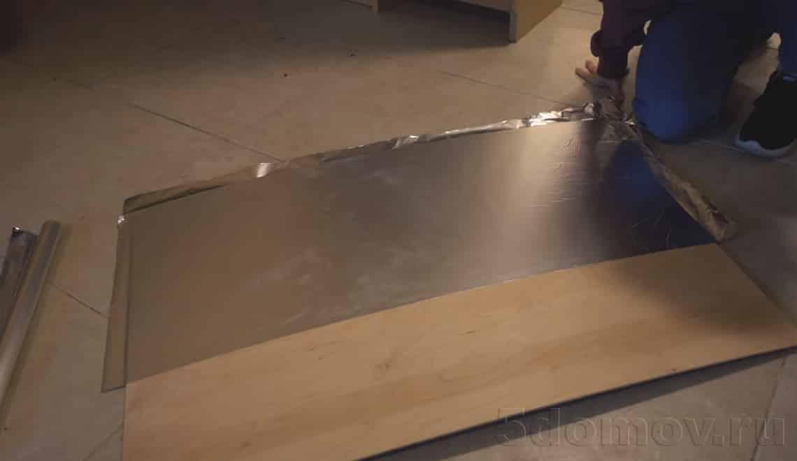 Дальнейшие этапы работы с коробом | Фальш-окно с подсветкой своими руками: пошаговая инструкция