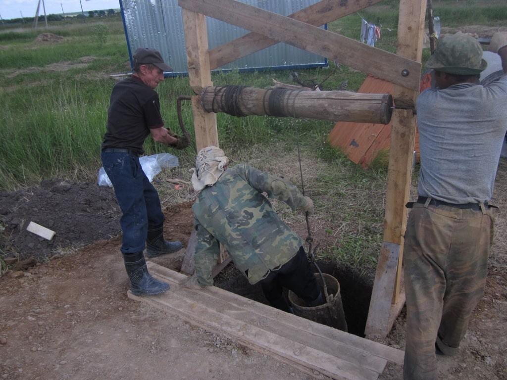 Правила работ в колодцах | Как спуститься в колодец
