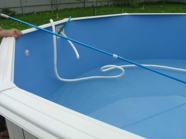 Слив воды из бассейна насосом | Как слить воду из каркасного бассейна