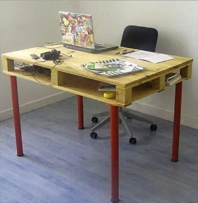Конструкции столов из поддонов | Стол из поддонов своими руками