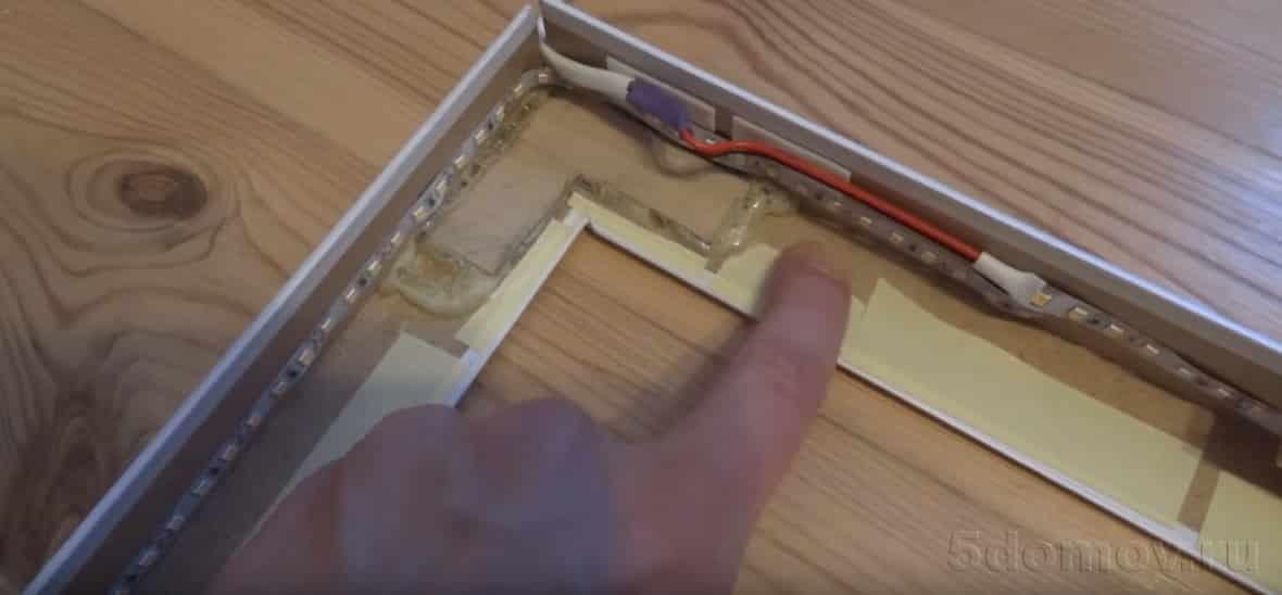 Предстоящие манипуляции | Как сделать простое фальш-окно своими руками