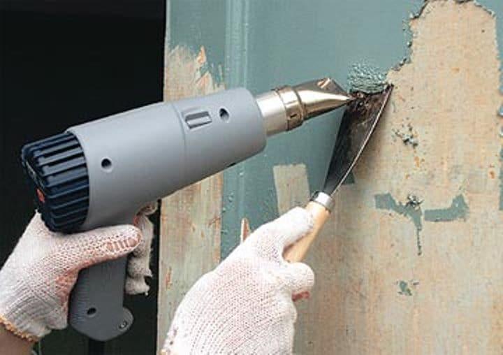 Чем смыть краску со стен и потолка