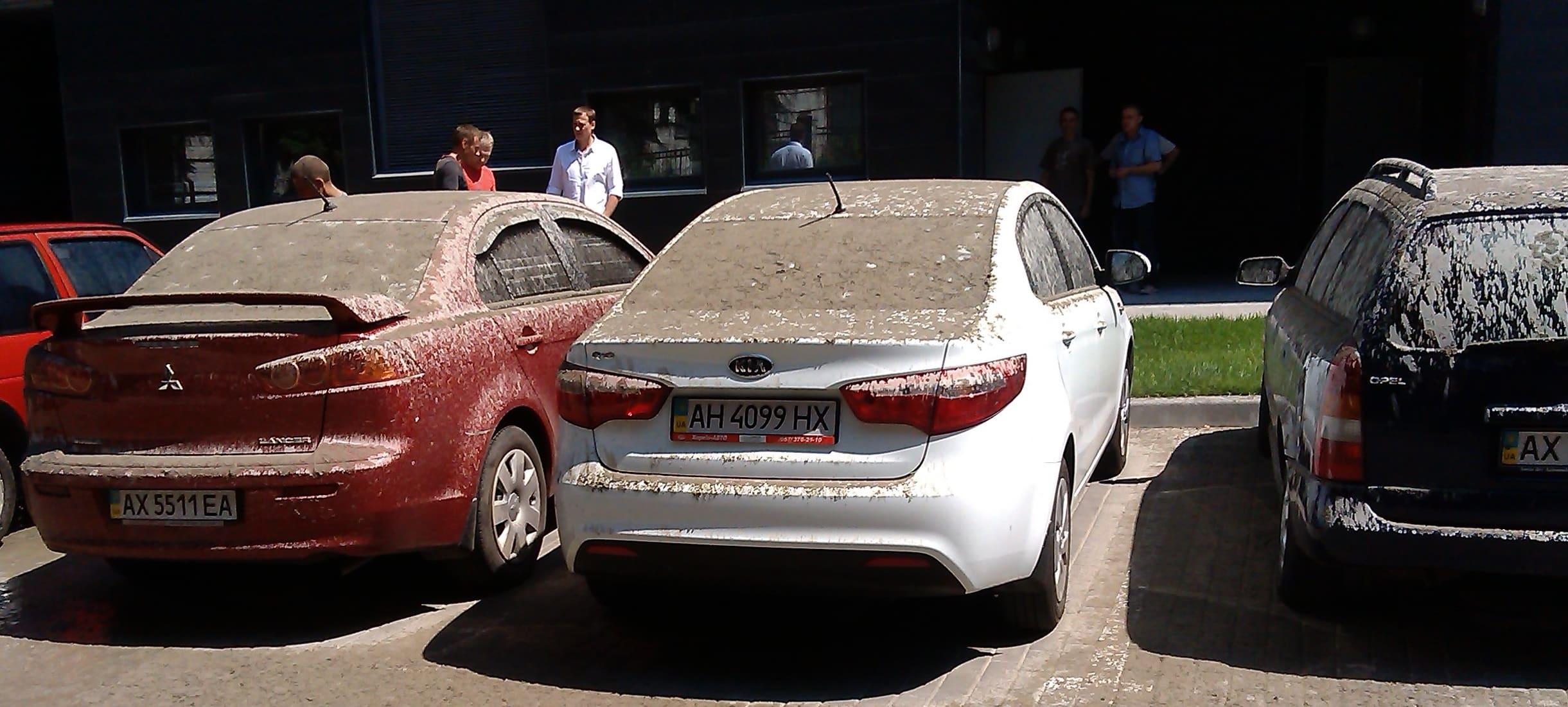 Чем и как отмыть цемент с машины