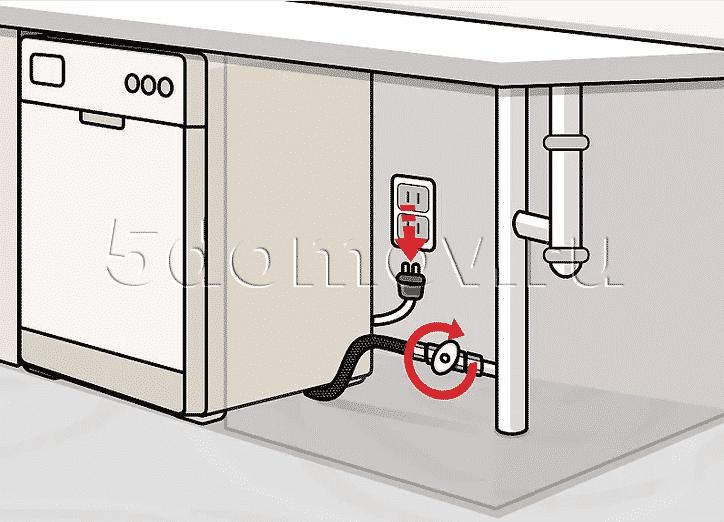 Как слить воду из посудомоечной машины на зиму